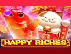 Happy-Riches- Slot-Logo