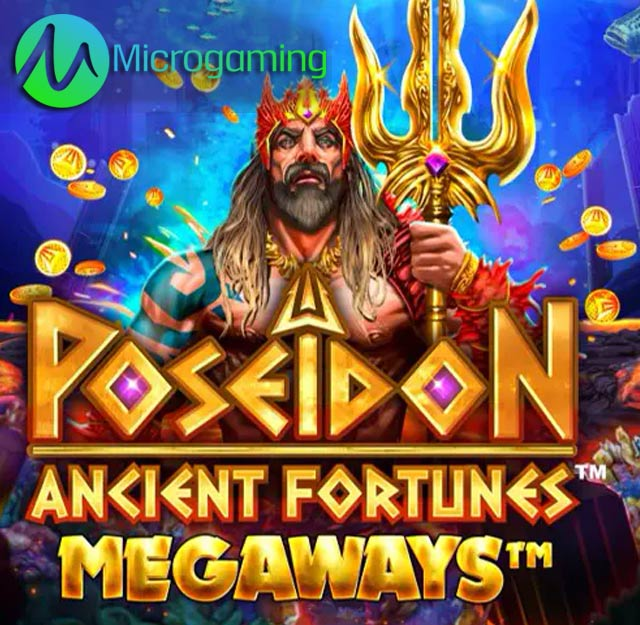 May is to be a good month for Microgaming with Poseidon-Ancient-Fortunes-casino games.